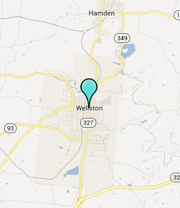 Map of Wellston, OH hotels