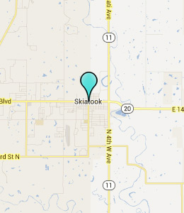 Map of Skiatook, OK hotels