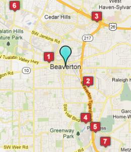Mapa Del Campus De Nike En Beaverton Oregon Santillana