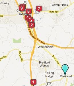 Wexford Pa Hotels Motels