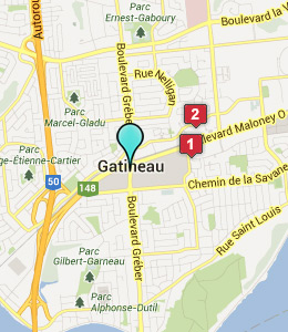 how to get to carleton place from quyon qc