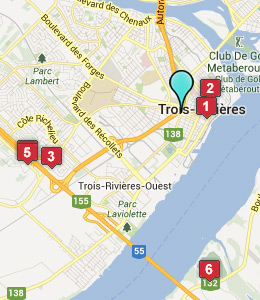 Hotels Near Trois Rivieres