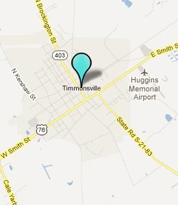 Map of Timmonsville, SC hotels
