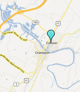Map of Calhoun, TN hotels