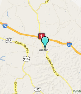Map of Joelton, TN hotels