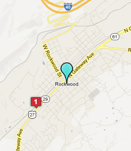Map of Rockwood, TN hotels