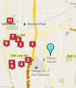 Map of Addison, IN hotels