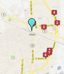 Hotels Near Alvin Tx