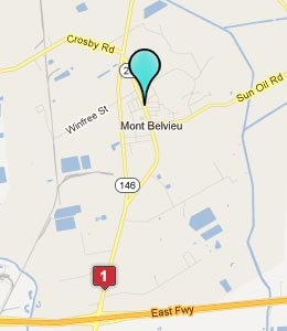 Map of Mont Belvieu, TX hotels