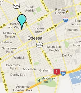 Map Of Odessa Texas Business Ideas 2013